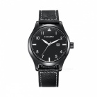 CAGARNY-Waterproof-Casual-Big-Dial-Mens-Quartz-Watch-Black