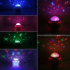 7 Color Projection, Chord Music, Dream Projection Lamp  - White