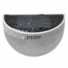 Joyshine N760D 5050SMD LED de energía solar lámpara de pared de colores - blanco