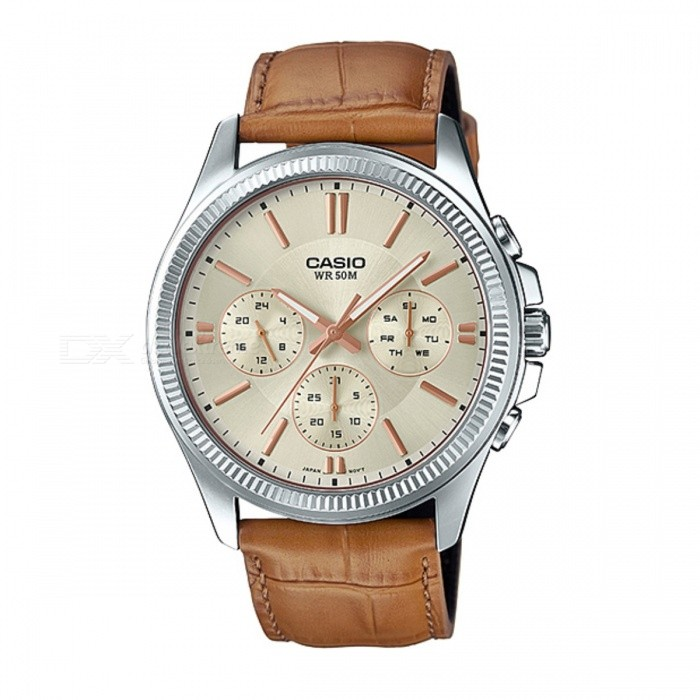 Casio MTP-1375L-9AVDF Analog Watch - Silver/Gold (Without Box)