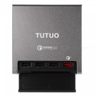 TUTUO-40W-4-Port-QC-30-Quick-Desktop-USB-Wall-Charger-(EU-Plug)
