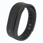 SMAWATCH 8002 Heart Rate Monitoring Smart Bracelet - Black