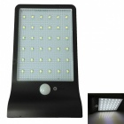 Ismartdigi-38W-36-LED-Wall-Light-Solar-Lamp-Sensor-Light-Black