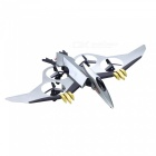 JXD 511V Pterosaurier 2.4GHz 4CH RC Quadcopter mit 0.3MP Kamera - Silber