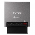 TUTUO-40W-4-Port-QC30-Quick-Desktop-USB-Wall-Charger-(US-Plugs)