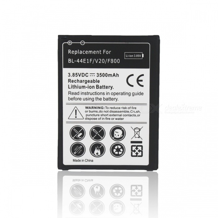 Buy 3500mAh Li-ion Battery Compatible with LG V20 -  Black with Litecoins with Free Shipping on Gipsybee.com