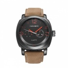 CAGARNY-6833-Fashion-2-Sub-dials-Mens-Quartz-Watch-Brown
