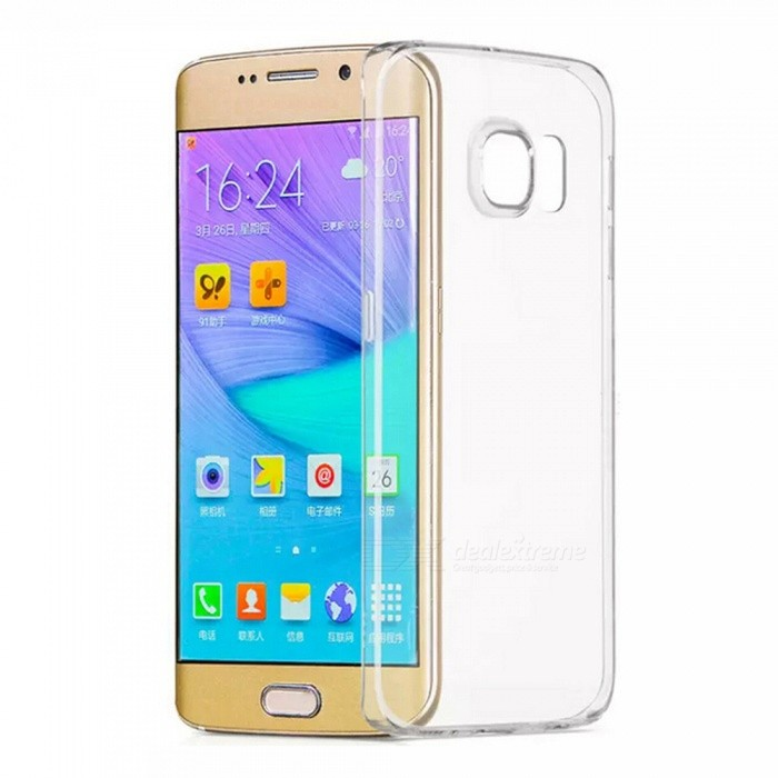 ASLING TPU Ultrathin Soft Back Case for Samsung S7 EDGE - TransparentTPU Cases<br>Form ColorTransparentModelASL-SS7EMaterialTPUQuantity1 pieceCompatible ModelsSamsung S7 EDGEPacking List1 x Protective case<br>