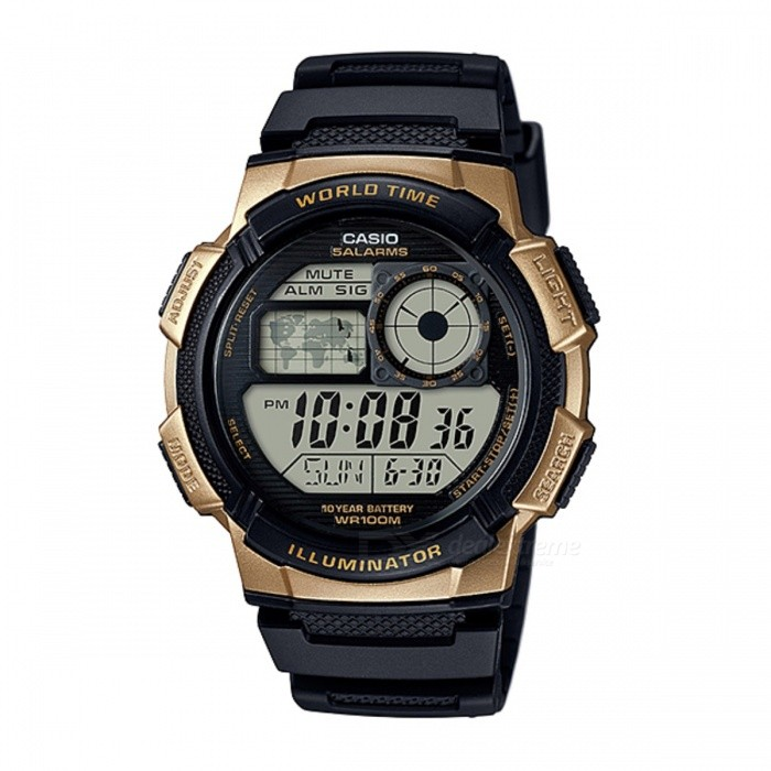 CASIO AE-1000W-1A3VDF sport watch - gyllene + svart (utan box)
