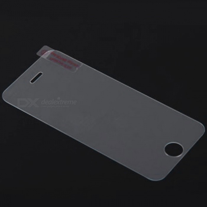 Dazzle Colour 0.26mm Tempered Glass Screen Protector Film for IPHONE 5--Transparent
