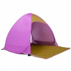 Outdoor-Portable-Automatic-Pop-Up-2-Person-Beach-Tent-Pink-2b-Red