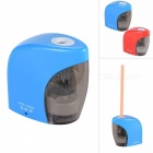Battery-Operated / USB Rechargeable Pencil Sharpener - Blue