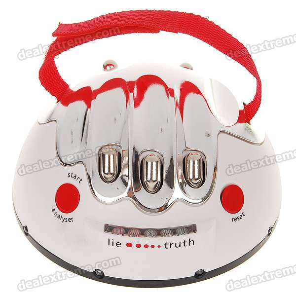 Shocking Liar Electric Shock Lie Detector Truth Game (3*AAA)