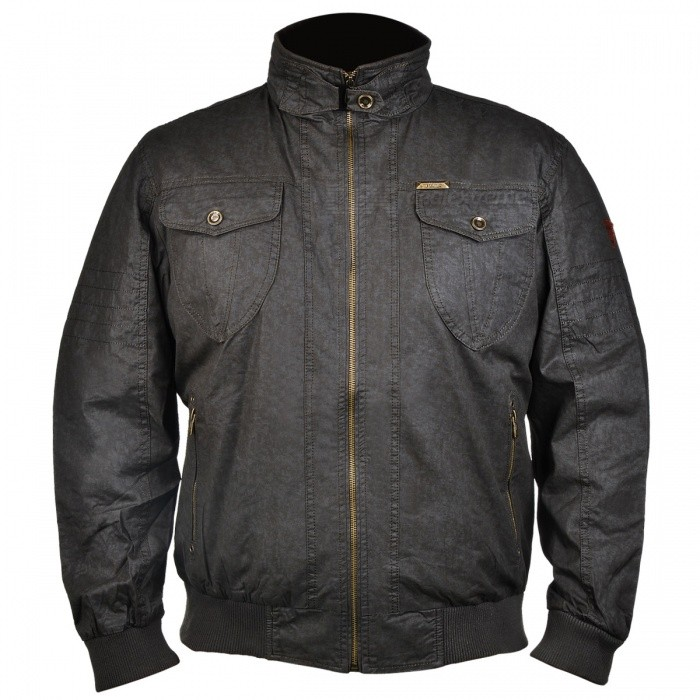 Buy Jeep Rich Multifunction Business Type Men's Jacket - Army Green (L) with Litecoins with Free Shipping on Gipsybee.com