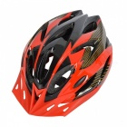 18-Vents-PC-2b-EPS-Bicycle-Helmet-w-Visor-for-Cycling-Black-2b-Red