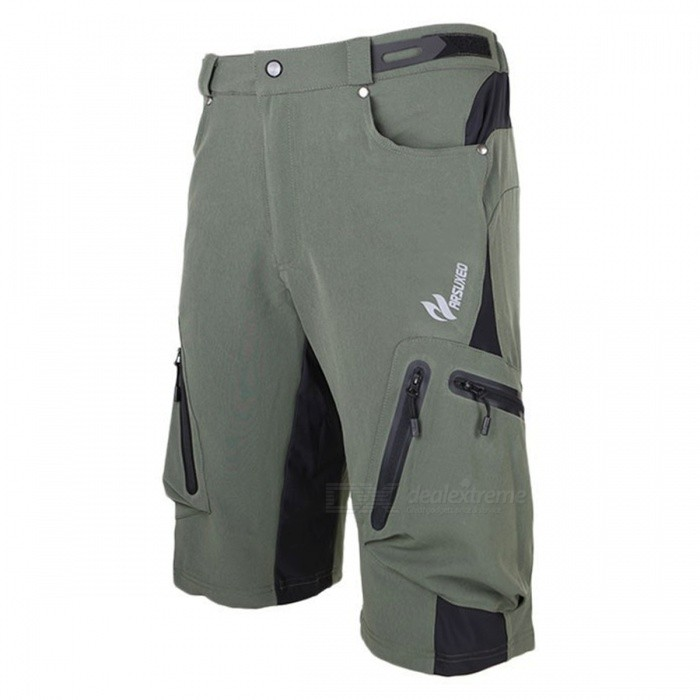 ARSUXEO Sportwear Mens Short Pants for Cycling - Army Green (XXL)Form  ColorArmy GreenSizeXXLModel1202Quantity1 DX.PCM.Model.AttributeModel.UnitMaterialPolyester + LycraGenderUnisexSeasonsSpring and SummerShoulder WidthN/A DX.PCM.Model.AttributeModel.UnitChest GirthN/A DX.PCM.Model.AttributeModel.UnitSleeve LengthN/A DX.PCM.Model.AttributeModel.UnitWaist72~110 DX.PCM.Model.AttributeModel.UnitTotal Length62 DX.PCM.Model.AttributeModel.UnitSuitable for Height175~185 DX.PCM.Model.AttributeModel.UnitBest UseCycling,Mountain Cycling,Recreational Cycling,Road Cycling,Bike commuting &amp; touringSuitable forAdultsTypeShort PantsOther FeaturesBreathable / Quick Dry / Waterproof Zipper Short Pants / Baggy Short Pants / Bottoms Spandex / PolyesterPacking List1 x Short pants<br>