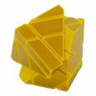 No tóxico 3 x 3 x 3 Ghost Magic IQ cubo juguetes - Amarillo + dorado