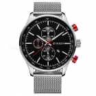 CURREN-8227-Fashion-Mens-Alloy-Case-Wrist-Watch-Black-2b-Silver