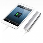 Cwxuan 6000mAh Li-ion Externe Power Bank für IPHONE, Telefon - Silber