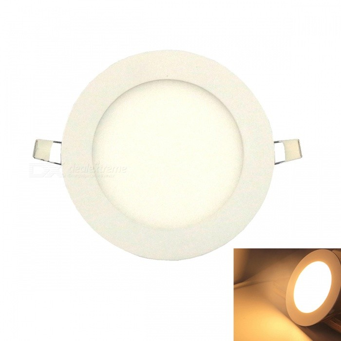 Ultra-thin 9W 45-2835SMD LED Warm White Embedded Ceiling LightCeiling Light<br>Form  ColorWhiteColor BINWarm WhiteModelUltra-thin 9WQuantity1 DX.PCM.Model.AttributeModel.UnitMaterialAluminum + high-transparent acrylic.Power9WRated VoltageAC 85-265 DX.PCM.Model.AttributeModel.UnitChip BrandOthersEmitter TypeOthers,2835 SMDTotal Emitters45Theoretical Lumens800 DX.PCM.Model.AttributeModel.UnitActual Lumens780-800 DX.PCM.Model.AttributeModel.UnitColor Temperature12000K,Others,3000-3500KDimmableNoBeam Angle180 DX.PCM.Model.AttributeModel.UnitExternal Diameter150 DX.PCM.Model.AttributeModel.UnitHole diameter130 DX.PCM.Model.AttributeModel.UnitHeight2 DX.PCM.Model.AttributeModel.UnitPacking List1 x Ceiling light1 x Transformer<br>