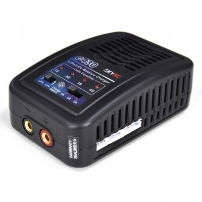 SKYRC SK-100107 E4 30W Balance Charger for 2-4S LiPo / LiFe Battery