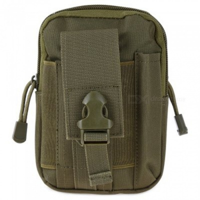 KICCY Tactical Molle Bag Belt Waist Pack for IPHONE -  Green