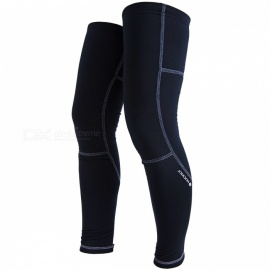 NUCKILY-Leg-Knee-Sleeve-Pads-for-Outdoor-Sports-Riding-Black
