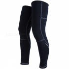 NUCKILY-Leg-Knee-Sleeve-Pads-for-Outdoor-Sports-Riding-Black-(XL)