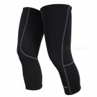 NUCKILY-Bicycle-Riding-Fleece-Knee-Sleeve-Winter-Pads-Black-(XXL)