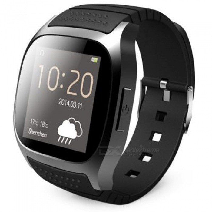 KICCY Bluetooth LED damer Smart Watch-svart