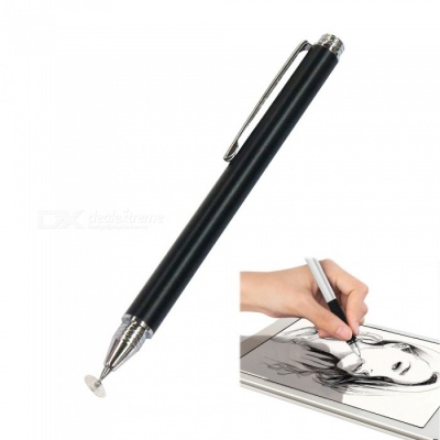 AT-11 Universal Touch Screen Capacitive Pen for Mobile Phone - Black
