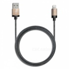 Verbatim-120cm-Lightning-Cable-Golden-Apple-MFi-Certified*64990