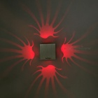 YouOKLight YK2236 Square Shape LED Wandleuchte Nachtlicht-Rote hell