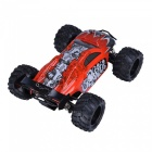 HelicMAX G18-1 01:18 45KMH 4WD High Speed ​​RC Racing Car - Punainen + Musta
