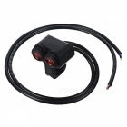 Eastor-DC-12V16A-Waterproof-Motorcycle-Red-Light-Switch-Black-2b-Red