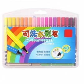 48PCS-Washable-Drawing-Painting-Markers-for-Kids-Multicolor