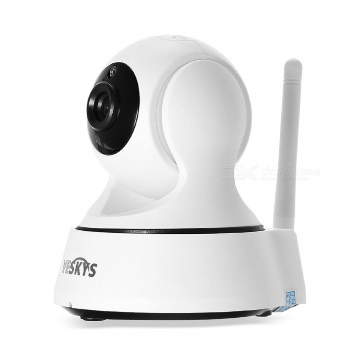 VESKYS 2.0MP 1080P Wi-Fi Security Surveillance IP Camera (EU Plug) for sale in Bitcoin, Litecoin, Ethereum, Bitcoin Cash with the best price and Free Shipping on Gipsybee.com