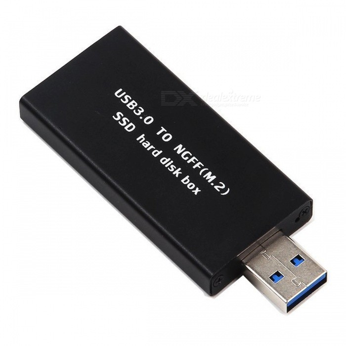 Buy Kitbon NGFF M2 SSD to USB 3.0 External Enclosure Adapter Card with Litecoins with Free Shipping on Gipsybee.com