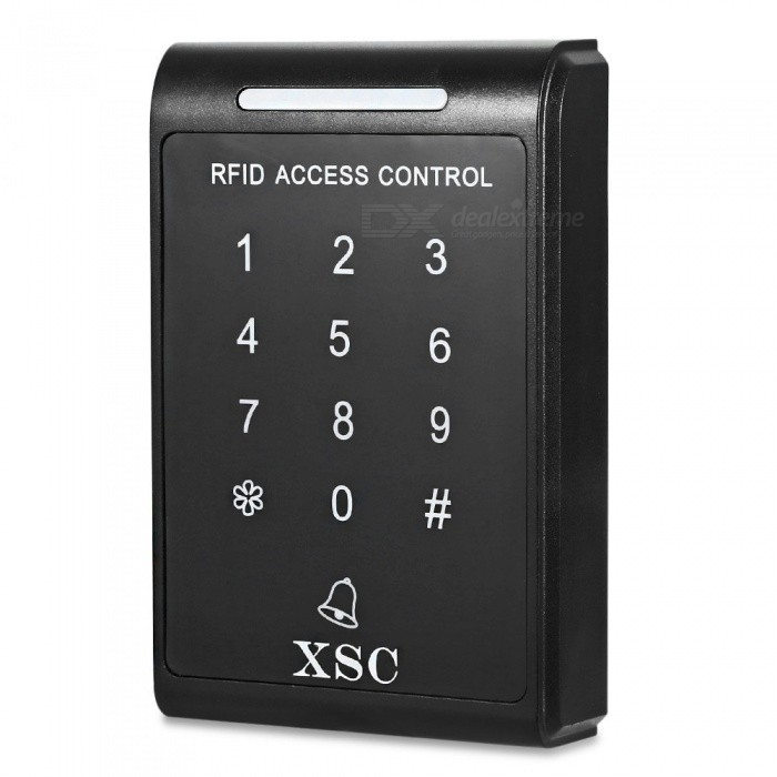 XSC ID Touch Password Access Controller System - Black