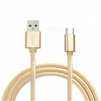 Type-C Charging Data Cable for Samsung Galaxy S8 / S8 Plus - Golden