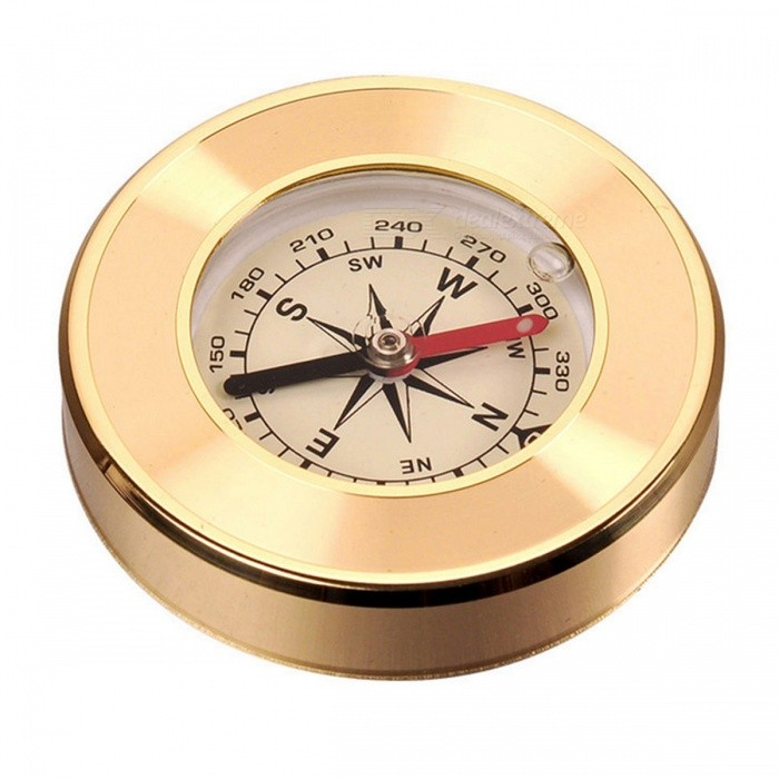 Naturehike Outdoor Portable Analog Copper Shell Compass - GoldenCompasses<br>Form  ColorGoldenModelNH80A003-EQuantity1 DX.PCM.Model.AttributeModel.UnitMaterialCopper shellAnalog or DigitalAnalogBattery TypeOthers,NoBattery included or notNoLCD screen5.6 DX.PCM.Model.AttributeModel.UnitRulerYesWaterproofYesLanyardNoBest UseFamily &amp; car camping,Camping,Mountaineering,Travel,CyclingPacking List1 x Compass<br>