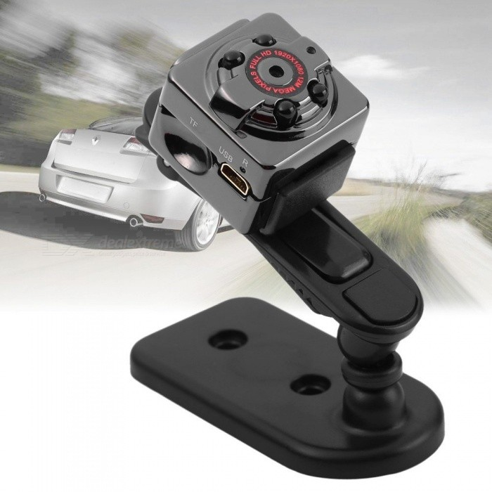 Buy SQ8 1080P HD Mini Camera w/ 12m Infrared Night Vision with Litecoins with Free Shipping on Gipsybee.com