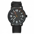 CURREN-8218-Fashion-Unisex-Alloy-Case-Wrist-Watch-Black
