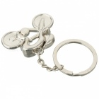 JEDX Cykel Style Zink Alloy nyckelring-silver