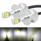 MZ H3 40W 12V LED Car Fog Light DRL Conversion Bulb (2 PCS)