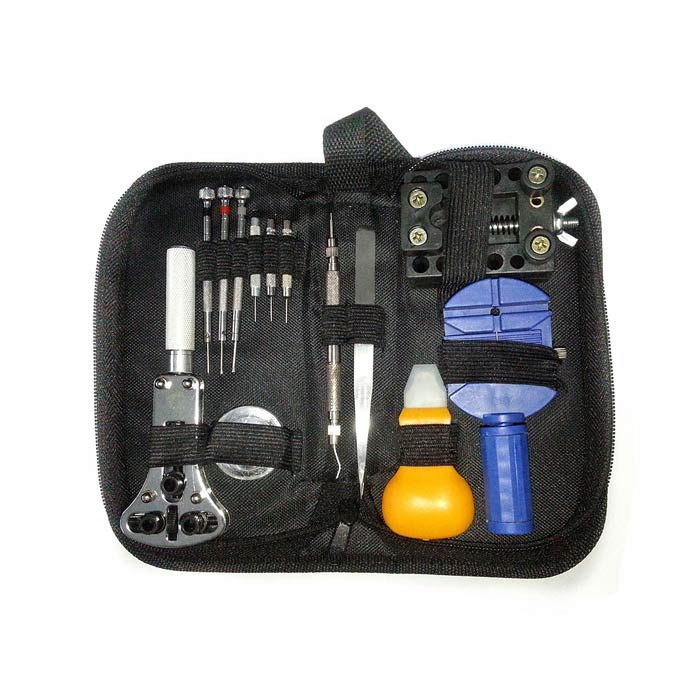 Buy Professional 13-in-1 Tool Set Kit for Watch Repair with Litecoins with Free Shipping on Gipsybee.com