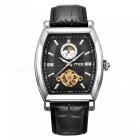 MCE-Genuine-Leather-Strap-Tourbillon-Mechanical-Watch-Black-2b-White