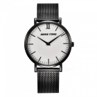 MCE-07-002-Ladies-Fashion-Quartz-Analog-Wrist-Watch-Black-2b-White