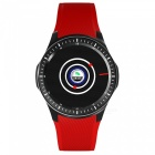 DOMINO-DM368-139-AMOLED-MTK6580-Quad-core-13GHz-Smart-Watch-Red