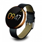 DOMINO-DM360-Stainless-Steel-Case-Leather-Band-Smart-Watch-Golden